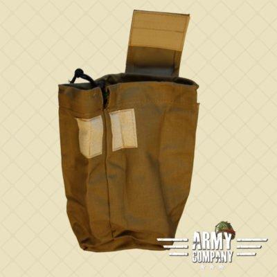 SAGear opvouwbare dump pouch - Coyote