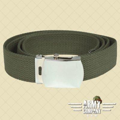 US Cotton web belt Mil-Tec - OD Green
