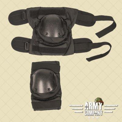 Pull-over kniebeschermers TEESAR - Zwart