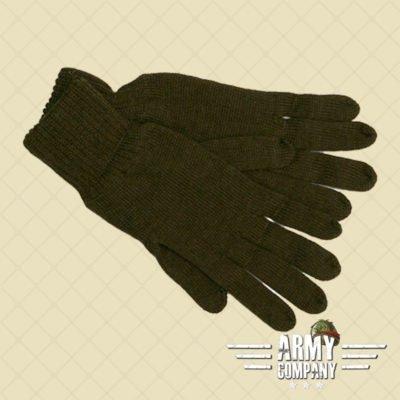 Army geknoopte handschoenen - groen