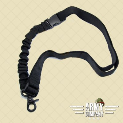 Warrior sling één punt - Zwart