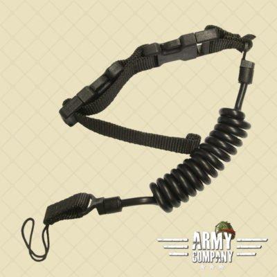 Emerson Tactische pistool lanyard - zwart