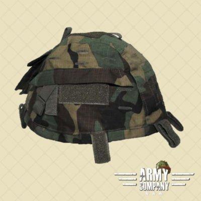 Tactical helmetcover MFH - Woodland