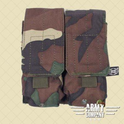 MOLLE pouch magazijn 2 x M16/M4 MFH - Woodland