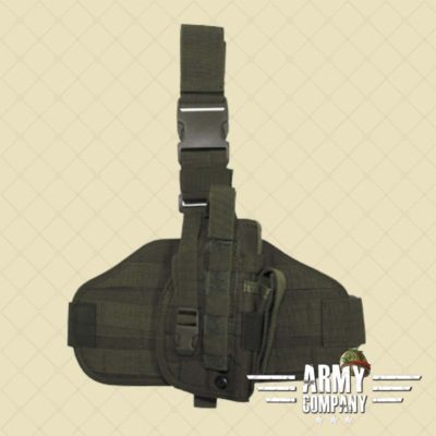 Tactical MOLLE pistool holster MFH - OD green