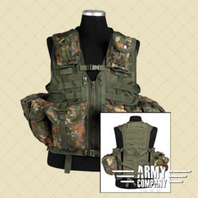 Tactical vest MOLLE 8 MIL-TEC - Flecktarn BW